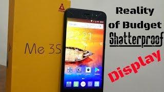 Reality of Budget Shatterproof Display iVOOMi Me3s Must see Video