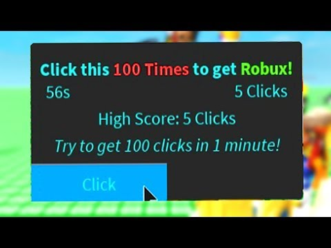 CLICK THIS 100 TIMES TO GET FREE ROBUX! (Roblox)