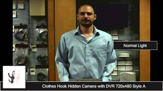 Coathook-dvr-v1 Hidden Camera Sample Video