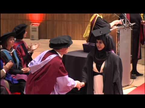 Convocation Ceremony of Westminster University at Royal Festival Hall on 10th November 2014