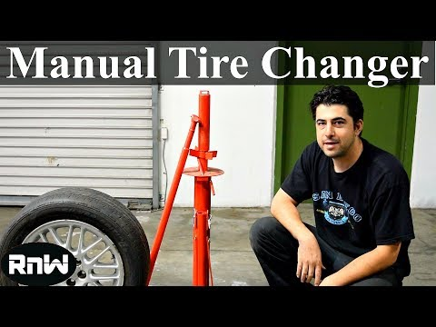 How to Use a Manual Tire Changer - By Harbor Freight