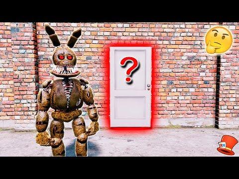 GUESS WHAT'S IN TWISTED SPRINGTRAP'S SECRET ROOM! (GTA 5 Mods For Kids FNAF RedHatter)