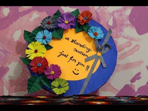 DIY Teacher's Day Card Making Idea ft. Ranji Raj Nair | Handmade Appreciation Card for Teacher's day