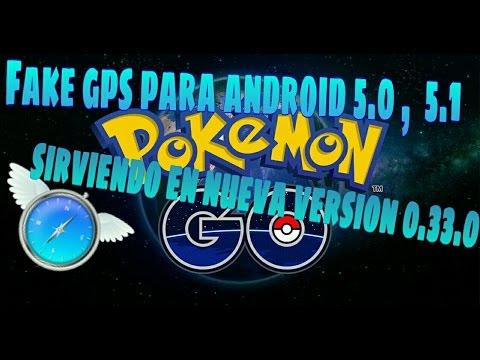 METODO CON FLY GPS  PARA ANDROID 5.0 Y 5.1