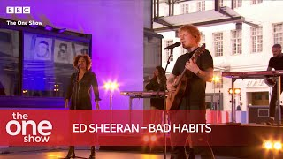Ed Sheeran - Bad Habits (Special Performance on The One Show)