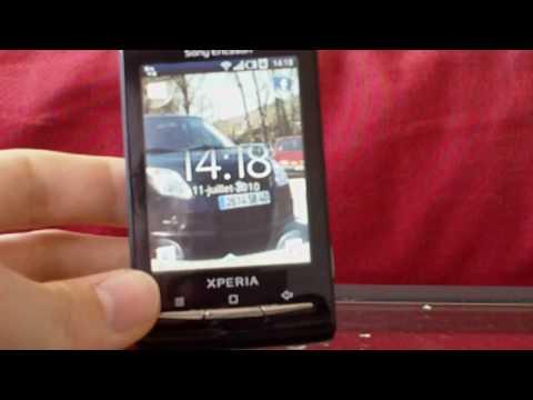Présentation du Sony-Ericsson XPERIA X10 mini