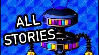 ALL Candy Cadet Secret Stories - FNaF Pizzeria Simulator