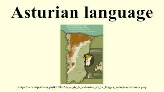 Asturian language