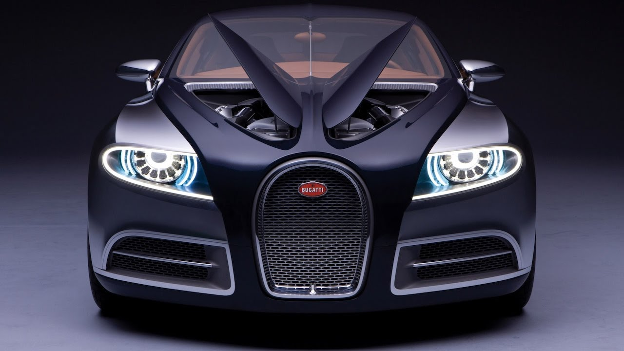 Bugatti 16C Galibier Five Door Concept Car - YouTube