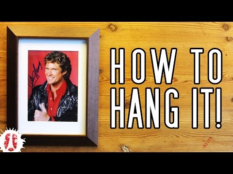 3-easy-ways-to-convert-a-tabletop-picture-frame-into-a-wall-frame-//-how-to-hang-pictures-w/o-hanger