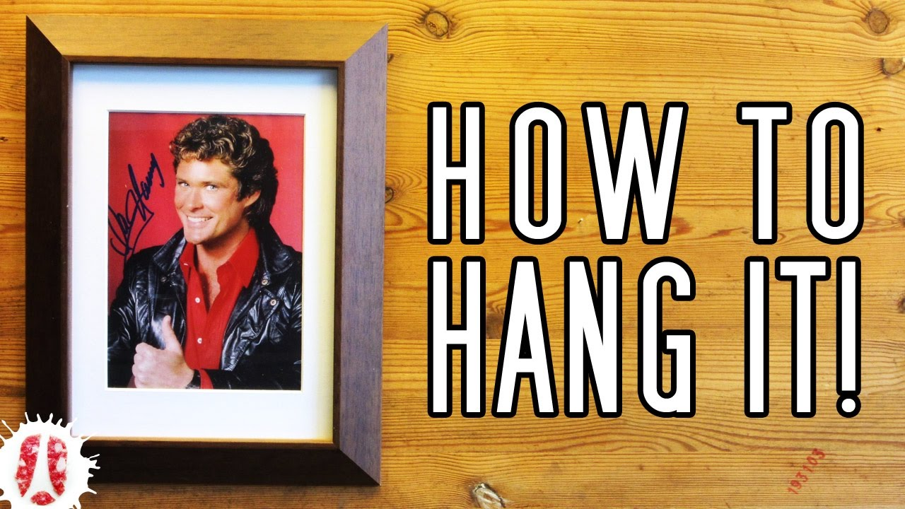 3 easy ways to convert a tabletop picture frame into a wall frame 3 easy ways to convert a tabletop picture frame into a wall frame how to hang pictures wo hanger jeuxipadfo Choice Image