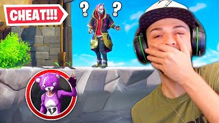 I CHEATED in Fortnite Hide + Seek...