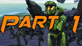 Halo Combat Evolved PC - Gameplay with Trainer and Modded Weapons - Part 1