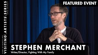 Stephen Merchant, Writer/Director, Fighting With My Family I DePaul VAS