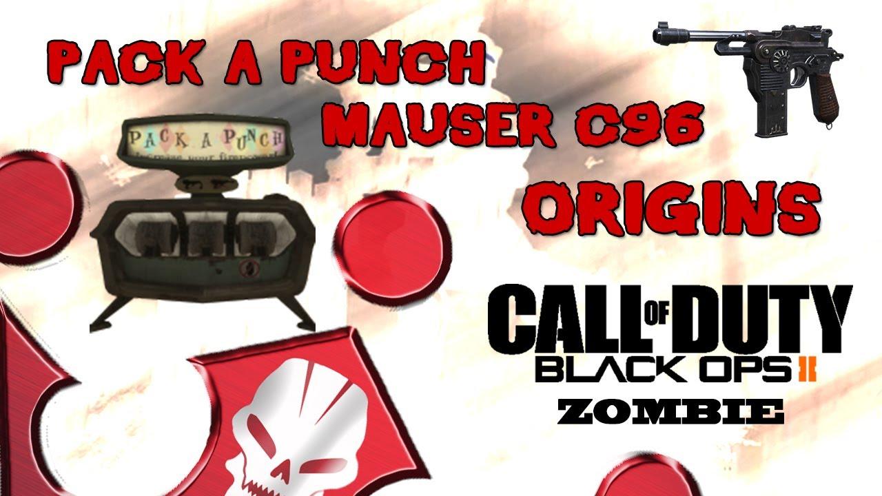 Black Ops 2 Zombie Origins Pack A Punch aktivieren ...