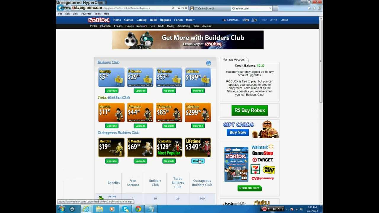 roblox lifetime obc account for sale