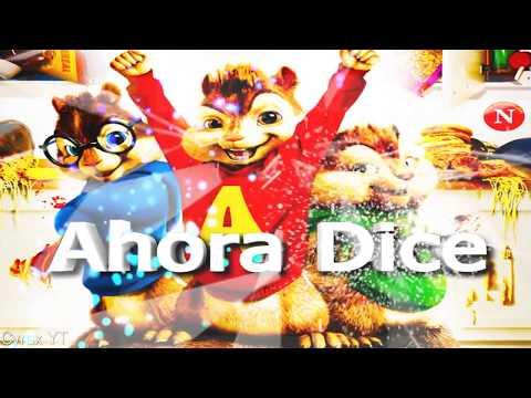 Ahora Dice ft  J  Balvin, Ozuna, Arcángel Alvin Y Las Ardillas