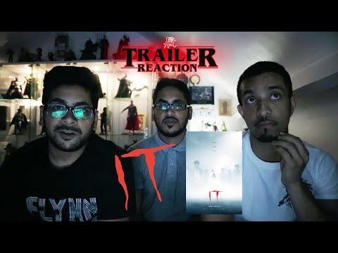 It Trailer #1 (2017) REACTION
