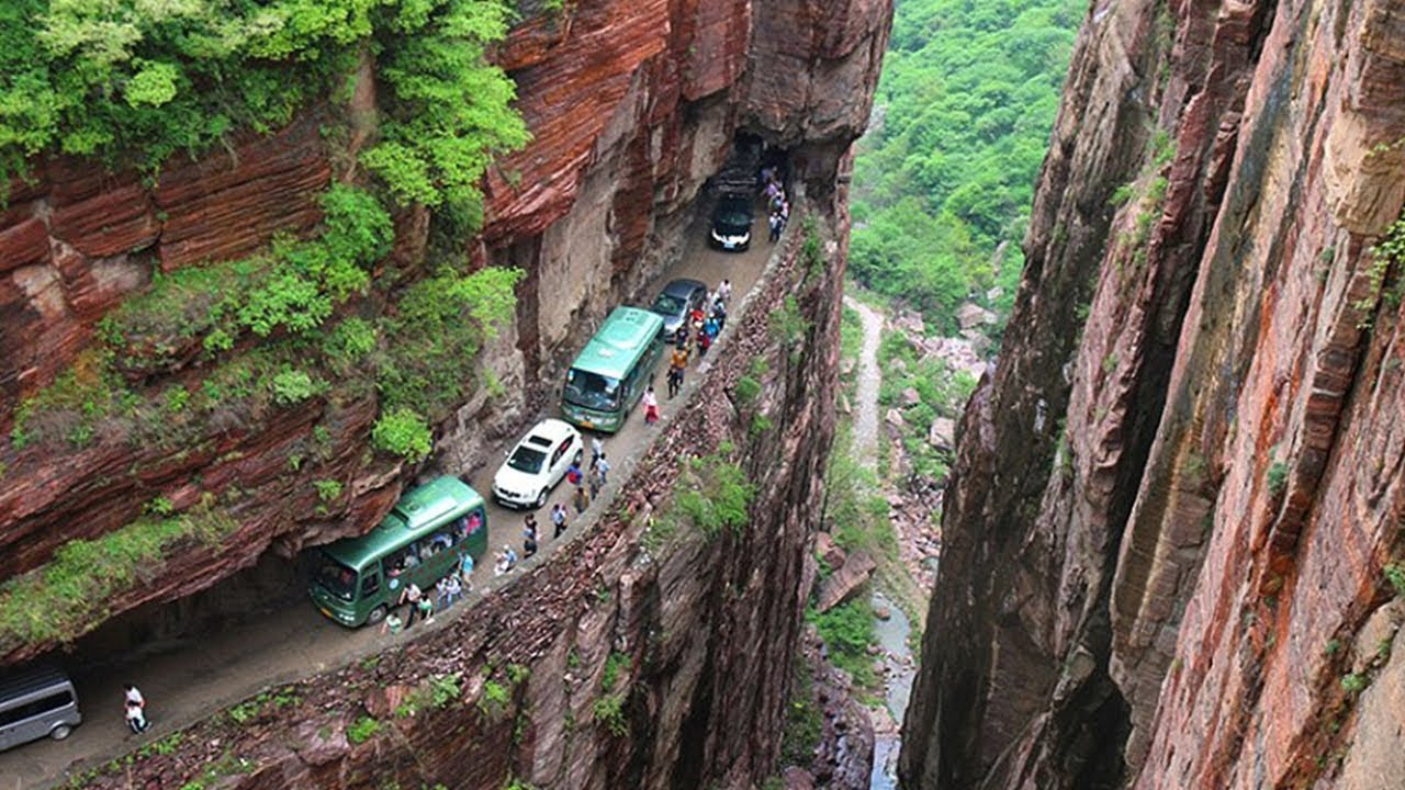 दुनिया के 5 सबसे खतरनाक रास्ते Top 5 Roads You Would Never Want to Drive On  - part 2 - YouTube