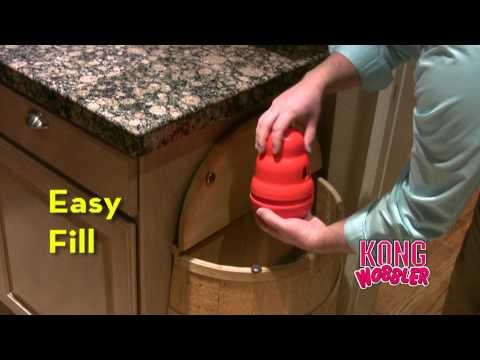 KONG Wobbler Dog Toy