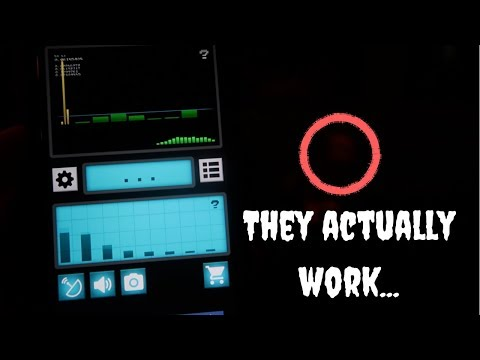 These Ghost Hunting Apps REALLY WORK!! (Compelling Evidence!)