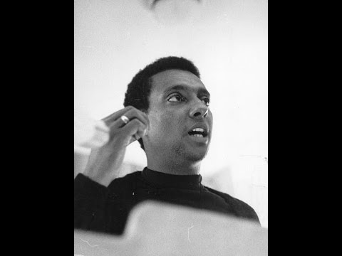 Stokely Charmichael speaking at UCLA 1/31/1973