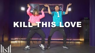 """Kill This Love"" Dance | Matt Steffanina ft Bailey Sok"