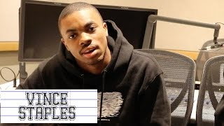 Vince Staples talks RZA in the studio & word his mom wants him to stop saying on Special Education