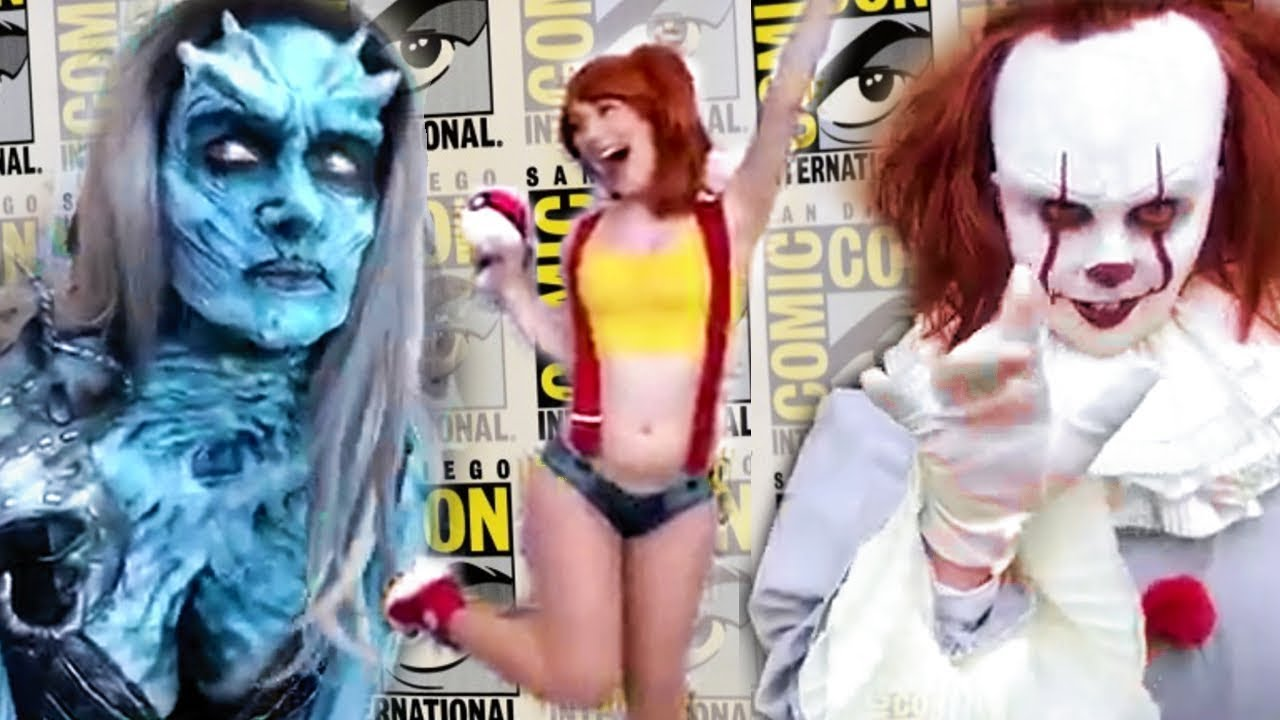 Download LIVE Comic Con Walkthrough Cosplay and Convention Hall (SDCC 2018)