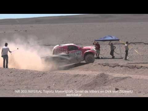 NR 303 DAKAR 2015 IMPERIAL Toyota Motorsport. Giniel de Villiers en Dirk von Zitzewitz