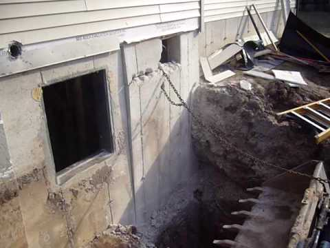Walkout basement door youtube for 9999 basement