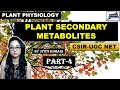 PLANTS SECONDARY METABOLITES(PART-4)| ALKALOIDS AND GLYCOSIDES ||CSIR NET|