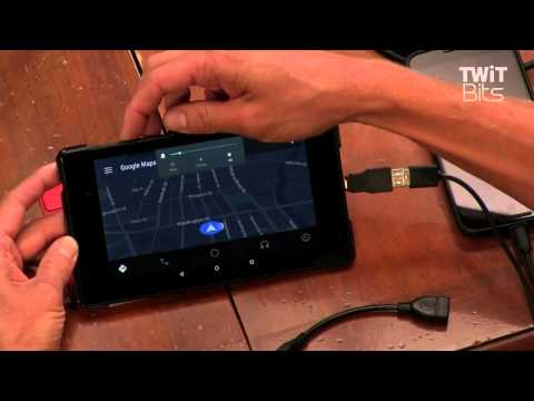 Android Auto on a Nexus 7: All About Android 218
