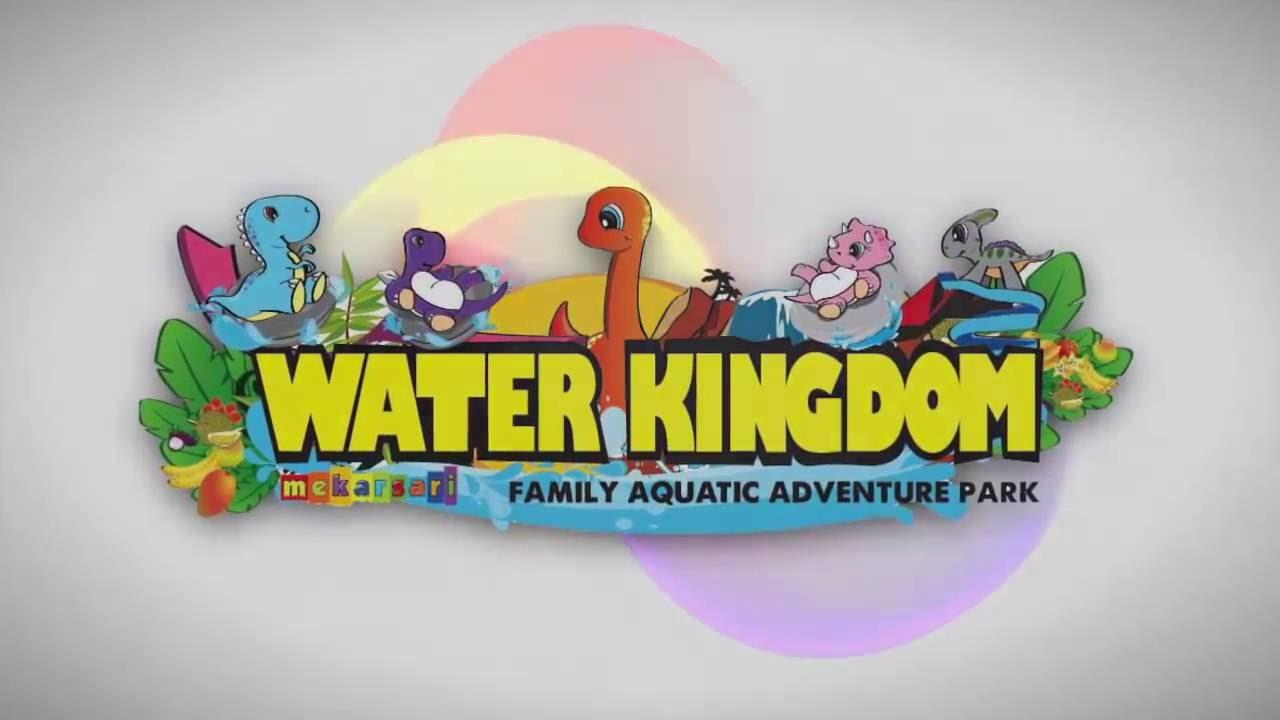 Serunya Wahana Air Water Kingdom Mekarsari Cileungsi Youtube Voucher