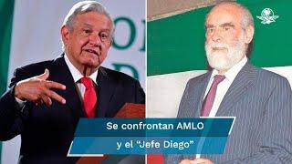 El presidente López Obrador criticó que la oposición podría postular en 2024 a figuras como Diego Fernández de Cevallos, Margarita Zavala, Gabriel Quadri, Claudio X. González o Carlos Loret de Mola