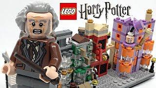 LEGO Harry Potter Diagon Alley review! 2018 set 40289!