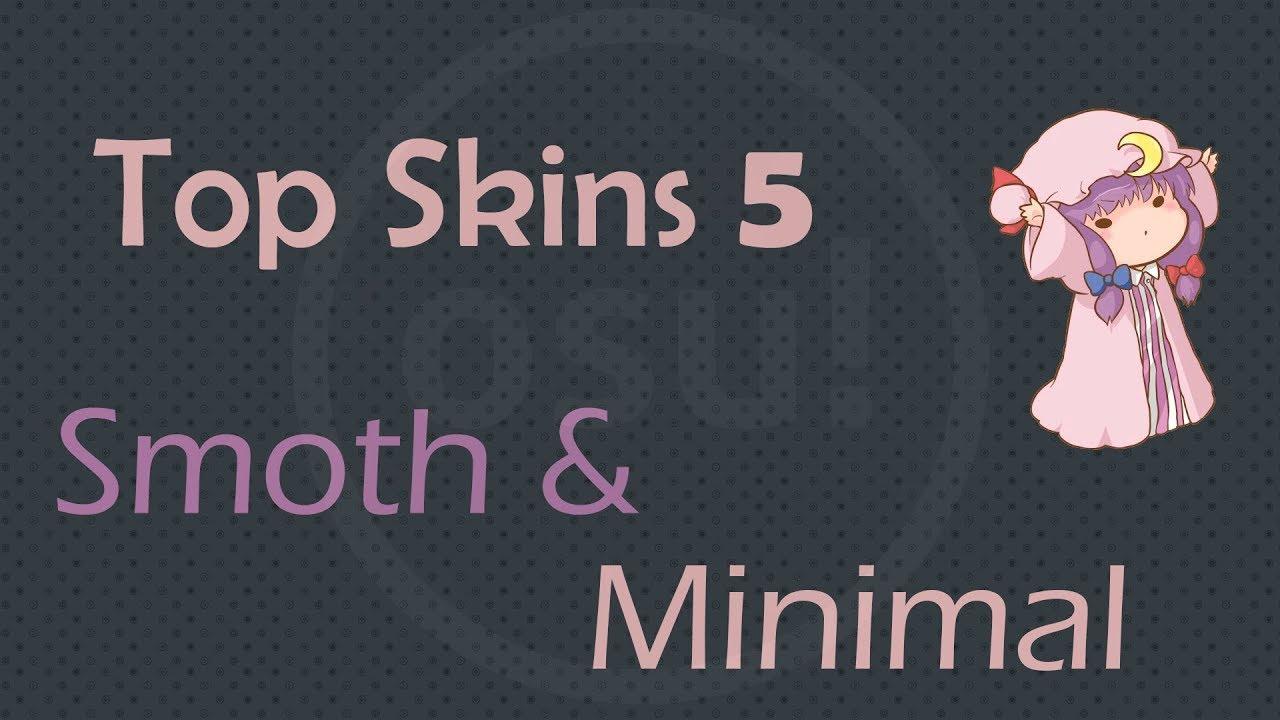 Best Osu Skins 2019 Osu! Top 5 Skins Minimalistic & Flat + Extra 2019   YouTube