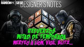 REFUERZOS MITAD DE TEMPORADA RAINBOW SIX SIEGE  OPERATION CHIMERA  ESPAOL  DLC