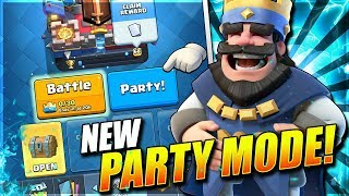 NEW 'PARTY MODE' UPDATE! R.I.P. 2V2!? 💀 Triple Draft & More! September Update - Clash Royale