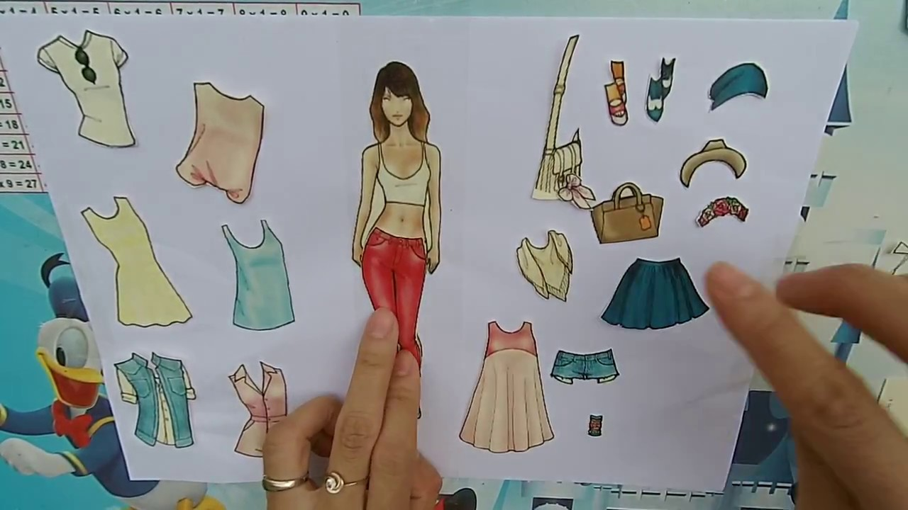 Đồ chơi mẹ tự làm ❤ Dán hình thiết kế thời trang ❤️ DIY toys for children❤️ Dâu Tây ToysReview TV ❤