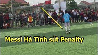 Quang Hải Nhí Messi Hà tĩnh trổ tài sút Penalty tuyệt đỉnh giành chức vô địch bóng đá PVF