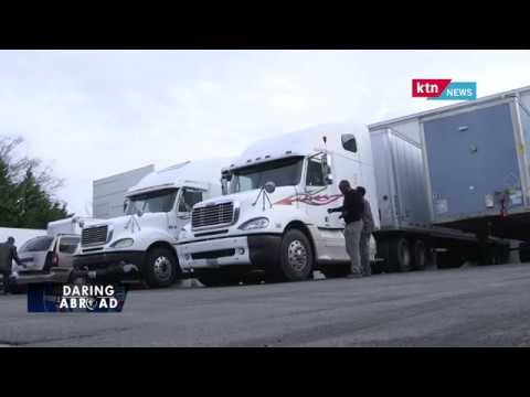 Daring Abroad, Isaac Gitau, in Trucking Business in Marietta, Georgia, USA.