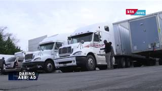 Daring Abroad, Isaac Gitau, in Trucking Business in Marietta, Georgia, USA.