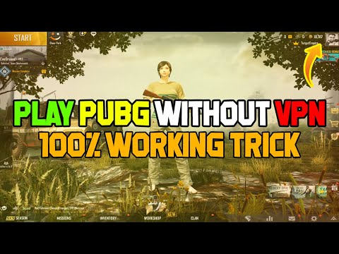 play-pubg-mobile-without-vpn!-100%-working-trick