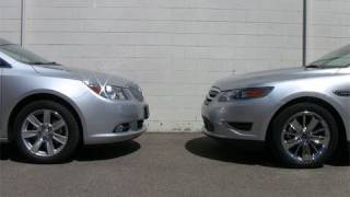 2010 Buick LaCrosse vs. Ford Taurus review