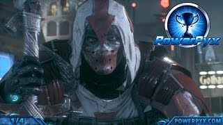 Batman Arkham Knight - Heir to the Cowl Side Mission Walkthrough (Azrael Symbol Locations)