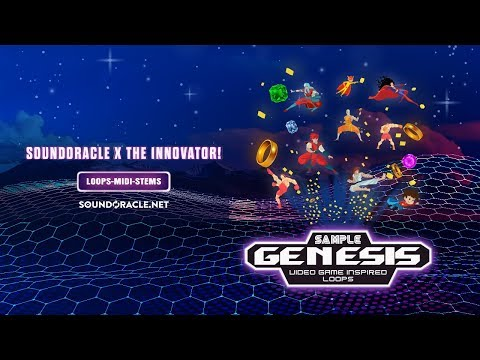 Sample Genesis - Sample Kit (Video Game Inspired Samples and Loops)