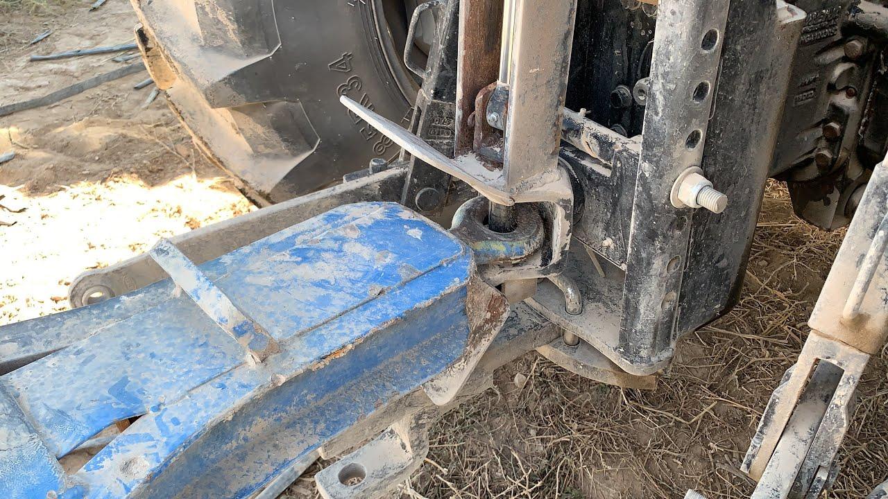Her Traktor Icin Pistonlu Arka Ceki Sistemi Youtube