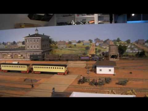 Thom Radice's HO Scale Western & Atlantic Civil War Era Model Railroad