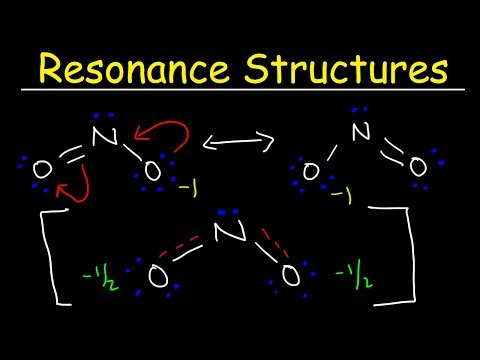 Resonance Structures, Basic Introduction - How To Draw The Resonance Hybrid, Chemistry